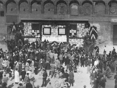 Sacrario dei partigiani,  Palazzo d'Accursio