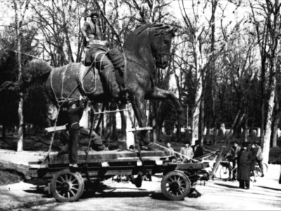Giardini Margherita – Monumento a Vittorio Emanuele II