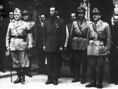 Caserma del Littorio, Caserma della Milizia Fascista - Via Fausto Beretta 2-10