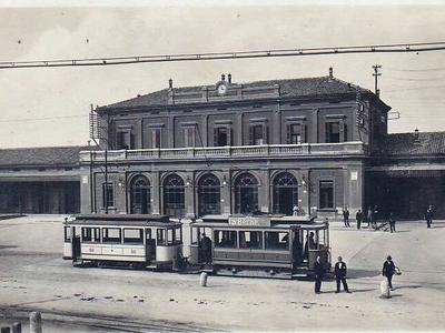 Lapide della Stazione di Ferrara