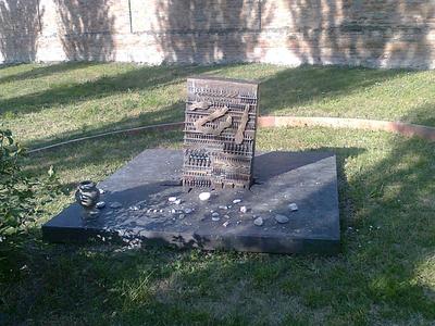 Cimitero della comunità Ebraica Ferrarese. Via delle Vigne, 13
