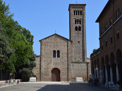 La Zona dantesca – Via D. Alighieri, Via G. Da Polenta, Piazza San Francesco