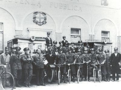 Croce Rossa e Assistenza Pubblica, Piazzale Barezzi 3