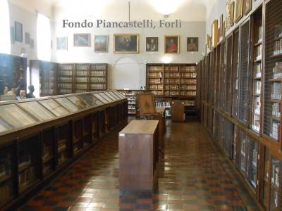 Biblioteca comunale A. Saffi, Collezione Piancastelli - Corso della Repubblica 72