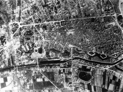 La Ferrara bombardata - I luoghi del disastro