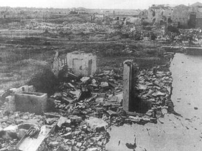 Porto Garibaldi bombardata