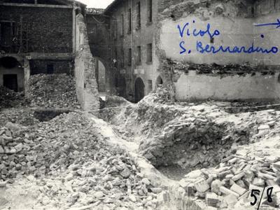 Vicolo San Bernardino – Rifugio antiaereo