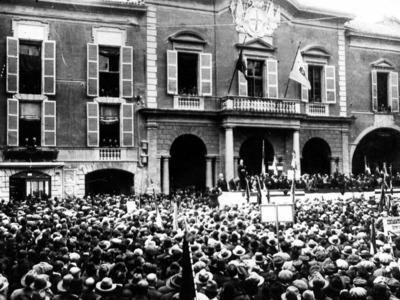 Eccidio partigiano – Piazza Prampolini