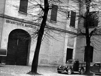 Caserma della Milizia fascista – Piazzetta Pignedoli