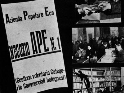 Via Rizzoli 9 – Negozio APE (Azienda Popolare Eca) n. 1