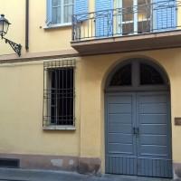 L'ingresso dell'abitazione di Vittorio Pellizzi, oggi