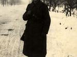 Soldato tedesco nella pianura modenese.