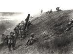 Un'immagine della battaglia del Senio.
