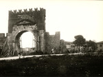 Arco d'Augusto imbragato