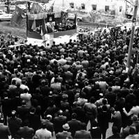 Manifestazione in onore dei caduti di Bagnile durante la Seconda guerra mondiale. Bagnile, 29 aprile 1973