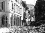 Via Lame angolo Via Riva Reno dopo l'incursione del 25 settembre 1943
