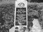 Il cippo che ricorda uno dei caduti della battaglia di Rovereto.