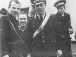 Bellaria, il carabiniere Osman Carugno (al centro).