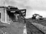 Stazione bombardata
