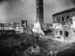 S. Giovanni Evangelista dopo i bombardamenti dell'estate 1944