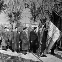 Commemorazione dei caduti partigiani a Limidi nel decennale della Liberazione (da Biblioteca Poletti).