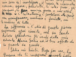 Lettera di un prigioniero politico prima della deportazione