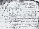 Guido Melli scrive dal Campo di concentramento di Fossoli dopo la detenzione nelle carceri di Sant'Eufemia.