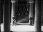 Ingresso della federazione fascista di modena con il sacrario ai \