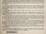 Manifesto che annuncia la costituzione della federazione modenese del partito fascista repubblicano.