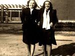 Le sorelle Lina e Laura Polizzi dopo il 1945