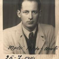 """Aldo Melli, partigiano """"Marte"""", ucciso nel settembre 1944"""