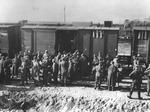 Cattura e trasferimento in Germania di soldati italiani dopo l'8 settembre 1943.