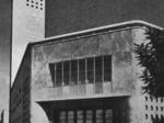 La caserma Italo Balbo in una foto d'epoca.