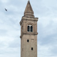 Campanile della cattedrale di San Giovanni Battista oggi (foto dell'autore)