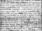 Telegramma fascista sulla battaglia di Cerrè Sologno.