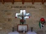 Interno della Chiesa di Cervarolo.
