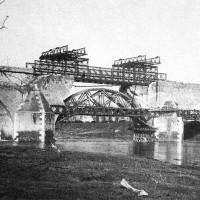Lavori per la sistemazione del Ponte Vecchio, ottobre 1944 (BCM Fondo Dellamore, FDP 1228)