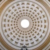 Cupola della chiesa di Santa Cristina oggi (M. MENGOZZI (a cura di), La chiesa di Santa Cristina, Stilgraf Editrice, Cesena, 2012, p. 117)