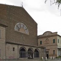 Ingresso della chiesa dell'Osservanza oggi (foto dell'autore)