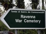 Insegna del Cimitero Militare