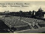 Cartolina del Cimitero di Guerra del Gruppo di Combattimento Cremona