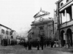 La piazza nell'Ottocento.