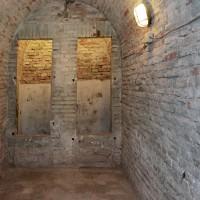 Ingresso delle latrine oggi (foto dell'autore)
