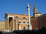 Colonna della Madona del Fuoco oggi