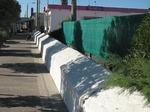 Porto Garibaldi, Via 5 maggio: muro antisbarco.