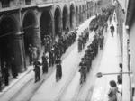 Funerale di un caduto della Brigata nera.