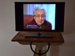 Installazione con intervista a Ernesta Zanzi, figlia di Vittorio.