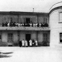 Cesena, la clinica Bisulli, inizio Anni '50 (BCM Fondo Bacchi, FBP 1537)