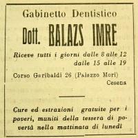 Pubblicità Balazs (dettaglio)