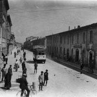 Cesena, Corso Cavour, 1925 (BCM Fondo Dellamore, FDP 3088)